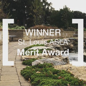 We are just so that at @bellefontainecemetery was recognized by @stlouisasla with a award. This project is near and dear to our hearts and provides a special space for many families.