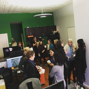 Oh that? That's a room full of #LandscapeArchitects... to be exact. To close out we are pleased to introduce a new effort: (Women Landscape Architects in St. Louis). This is a forum intended to help women connect with other women in the field and to encourage collaboration and sharing of experiences and knowledge. @dtlsstudio was honored to host the first gathering today, and our friends at @christnerinc will welcome you again next quarter! Stay tuned for details, and thanks for coming, gals!