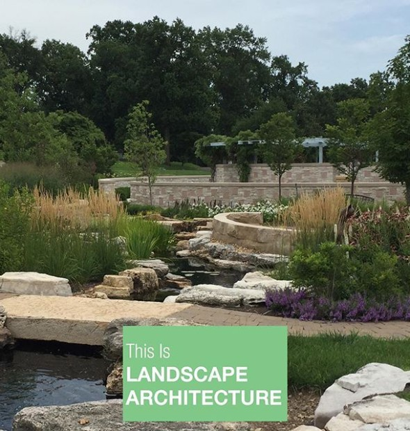 One of our stlouisasla merit award winning projects wildwood valley garden at for St louis home and garden show 2017