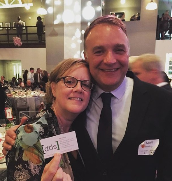 What a pleasure to help @gardencitymontessori celebrate at their #BloomGala! You know how we feel about things in #bloom! @dtlsstudio is proud to add to the auction items with a collaborative offer of and from @gardenheights for our lucky winner! She won the raffle and chose to spread some blooming love over her yard in 2018! Thank you, for supporting an amazing mission and exciting event!