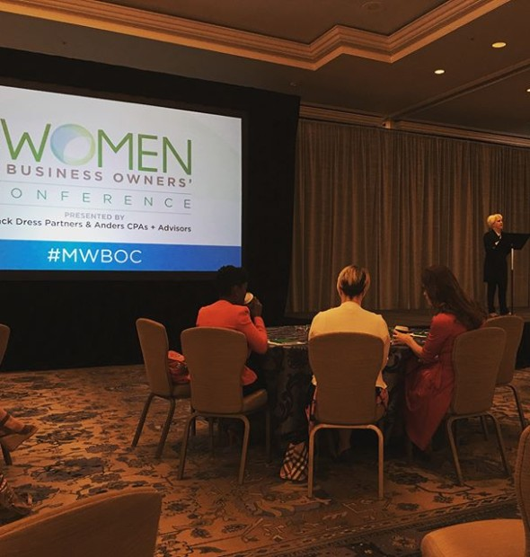 What a joy to spend the day at the with a full room of talented peers and inspiring women! [ ]