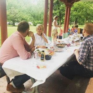 To celebrate of for our and #President, Sue Wiest we cut work a little early and enjoyed a beautiful evening in @towergrovepark - toasting Sue and the many places and faces she has influenced. Here's to many more! [ ]